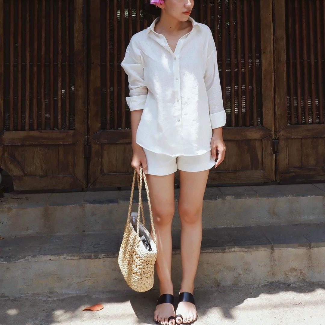 Loạt đồ linen vừa xinh vừa mát rượi chị em sắm về diện nguyên mùa hè không chán - Ảnh 2.