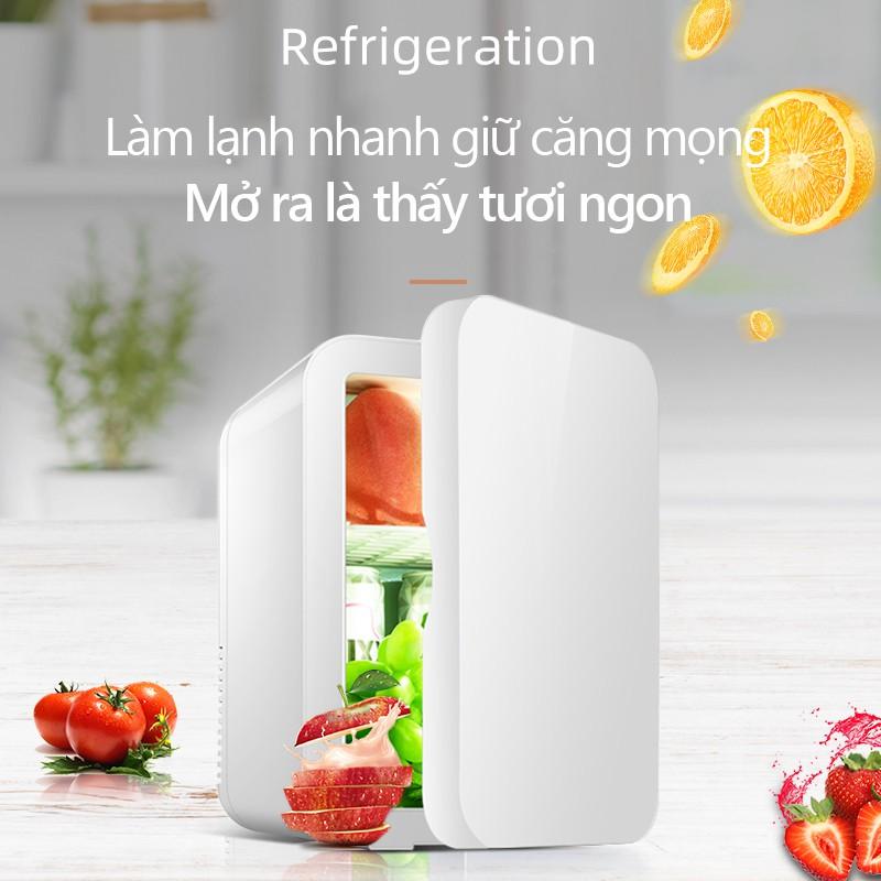 Hè đến chị em sắm tủ lạnh mini đựng mỹ phẩm cho đảm bảo, giá chỉ vài trăm không đắt tẹo nào - Ảnh 3.
