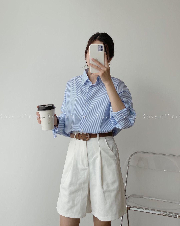 Tổng hợp quần shorts đáng sắm nhất hè này: Giá từ 200k, toàn kiểu Hàn xẻng đẹp mê ly - ảnh 4