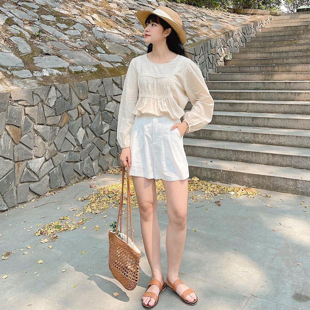 Tổng hợp quần shorts đáng sắm nhất hè này: Giá từ 200k, toàn kiểu Hàn xẻng đẹp mê ly - ảnh 13