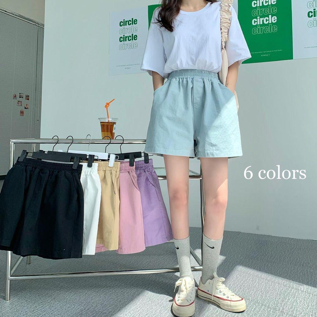 Tổng hợp quần shorts đáng sắm nhất hè này: Giá từ 200k, toàn kiểu Hàn xẻng đẹp mê ly - ảnh 1