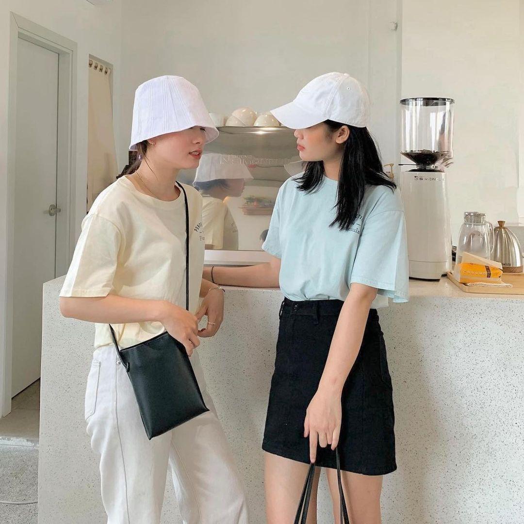 """Tuyển tập áo phông chuẩn style Hàn đẹp nhất tại các shop, chị em """"múc"""" ngay vì giá chỉ từ 150k - Ảnh 1."""