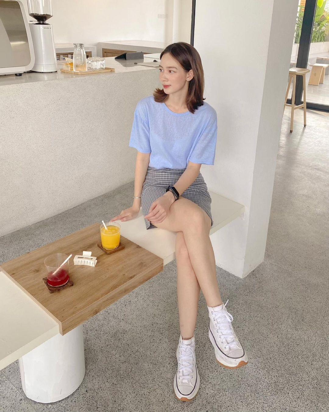 """Tuyển tập áo phông chuẩn style Hàn đẹp nhất tại các shop, chị em """"múc"""" ngay vì giá chỉ từ 150k - Ảnh 4."""