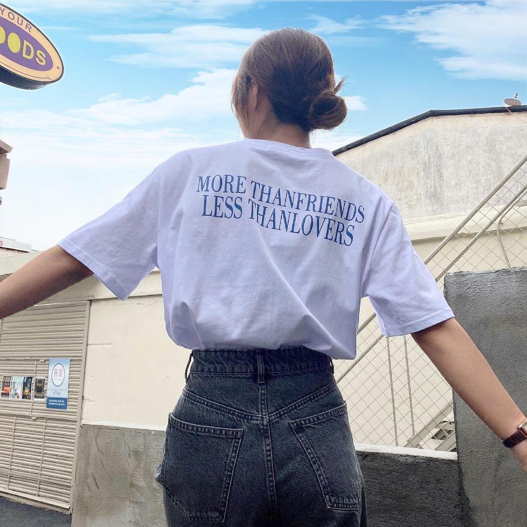 """Tuyển tập áo phông chuẩn style Hàn đẹp nhất tại các shop, chị em """"múc"""" ngay vì giá chỉ từ 150k - Ảnh 6."""