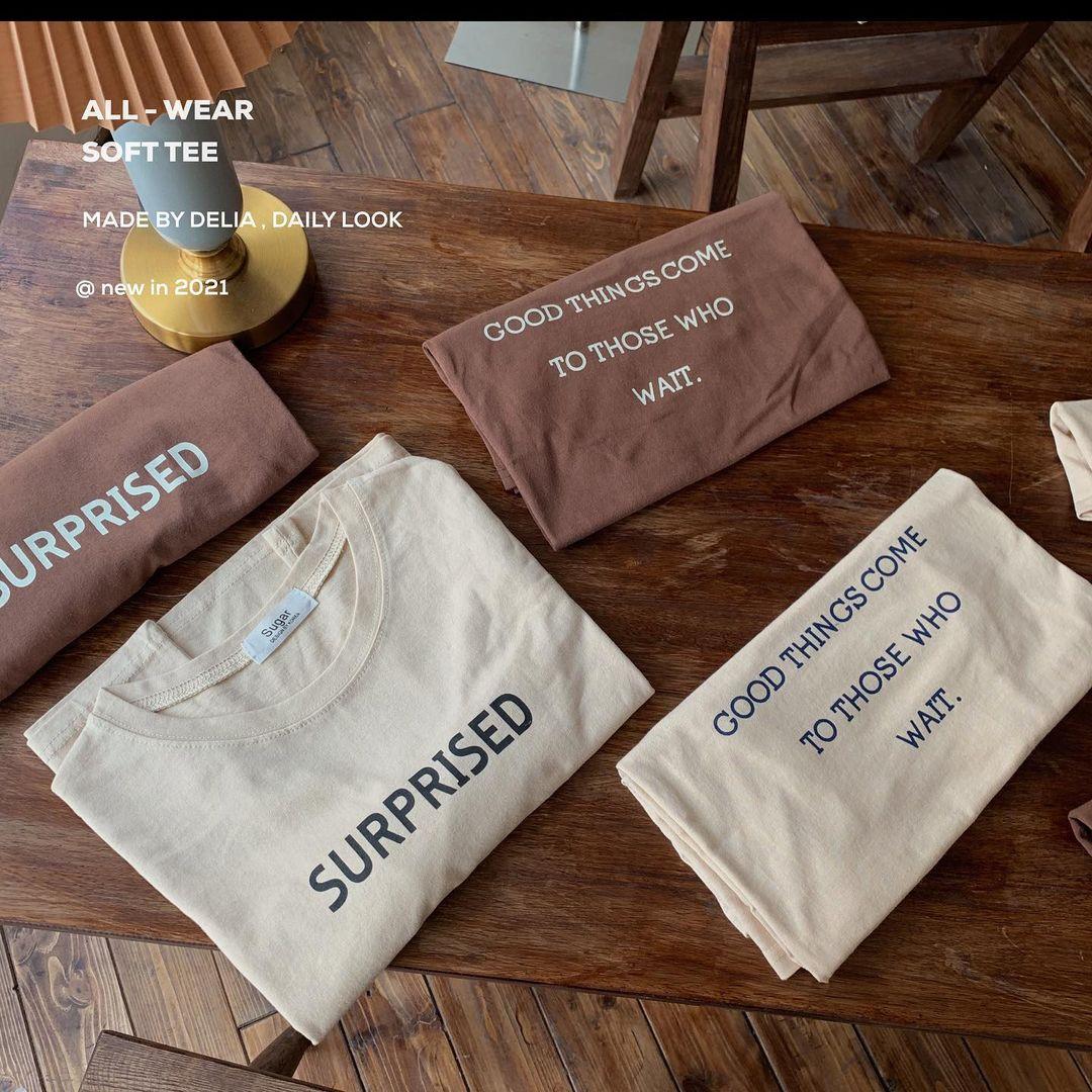 """Tuyển tập áo phông chuẩn style Hàn đẹp nhất tại các shop, chị em """"múc"""" ngay vì giá chỉ từ 150k - Ảnh 3."""
