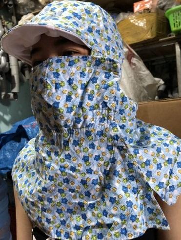 Chống nắng triệt để, Hà Trúc quẩy hẳn khẩu trang yếm ninja giá chỉ 25k chị em sẽ muốn mua theo ngay - Ảnh 7.