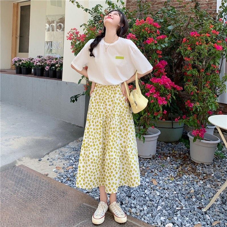 Hè là phải sắm chân váy, nhiều mẫu xinh mát giá chỉ từ 200k cho chị em rước về lắm này - Ảnh 2.