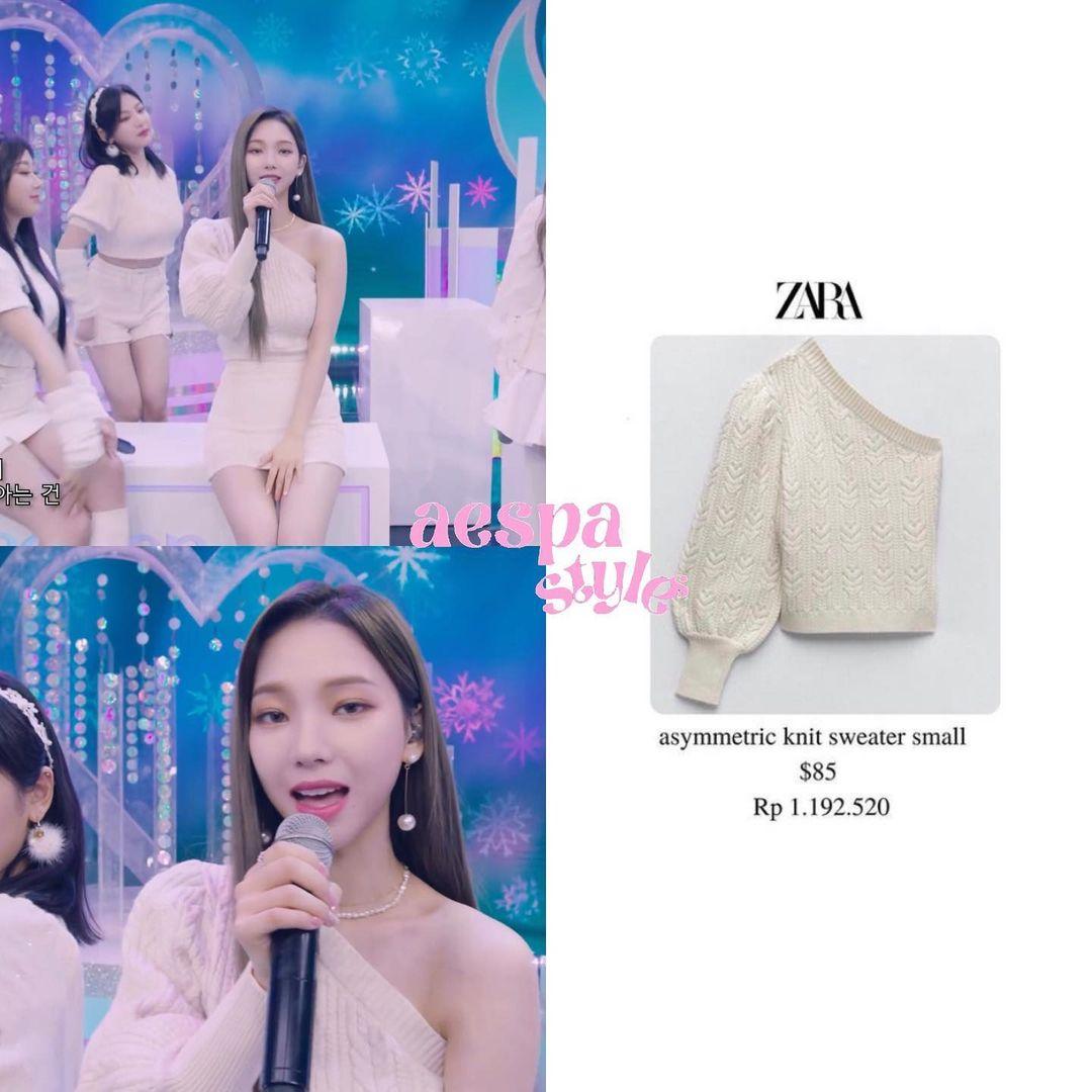 Sao Hàn diện đồ Zara từ street style lên sàn diễn: Xinh nhất là áo phông chỉ hơn 200k của Krystal - Ảnh 2.