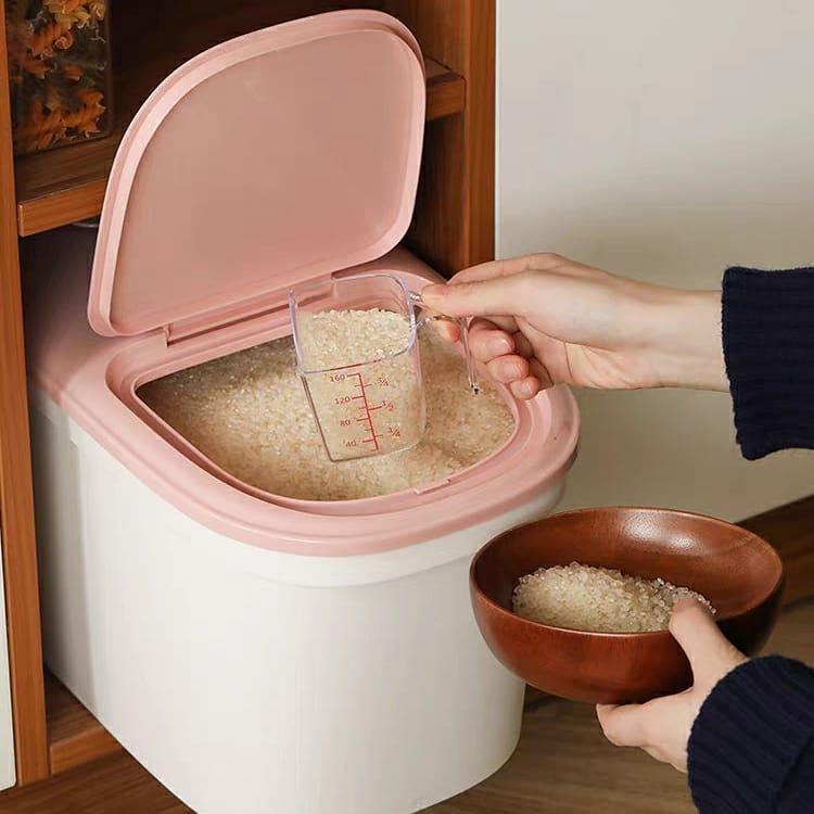 Xoài Non khai sáng cho chị em thùng đựng gạo thông minh xinh xịn, quan trọng là giá cực êm - Ảnh 8.