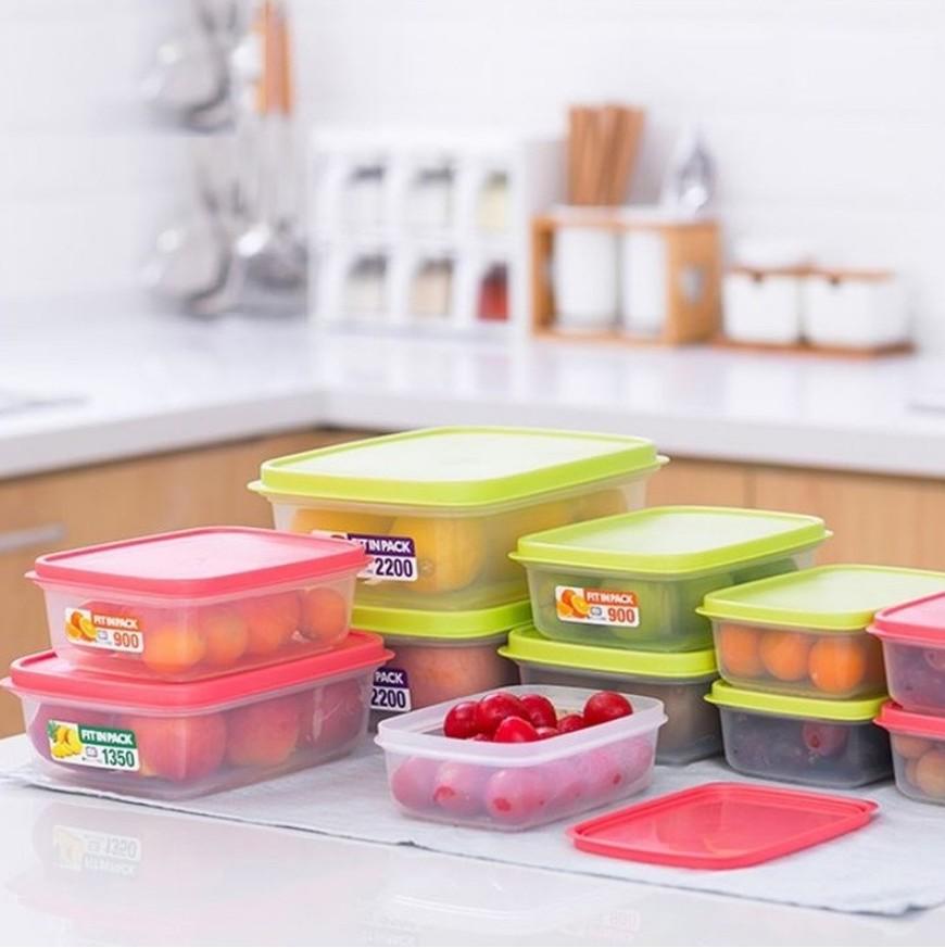 Bỏ vài chục nghìn sắm hộp đựng thực phẩm để có tủ lạnh gọn gàng, ngăn nắp như nhà Hà Tăng - Ảnh 6.