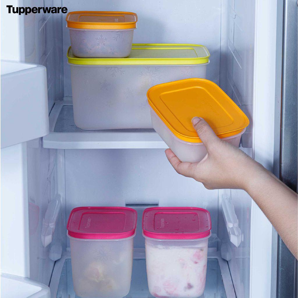 Bỏ vài chục nghìn sắm hộp đựng thực phẩm để có tủ lạnh gọn gàng, ngăn nắp như nhà Hà Tăng - Ảnh 3.