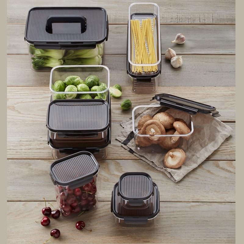 Bỏ vài chục nghìn sắm hộp đựng thực phẩm để có tủ lạnh gọn gàng, ngăn nắp như nhà Hà Tăng - Ảnh 2.