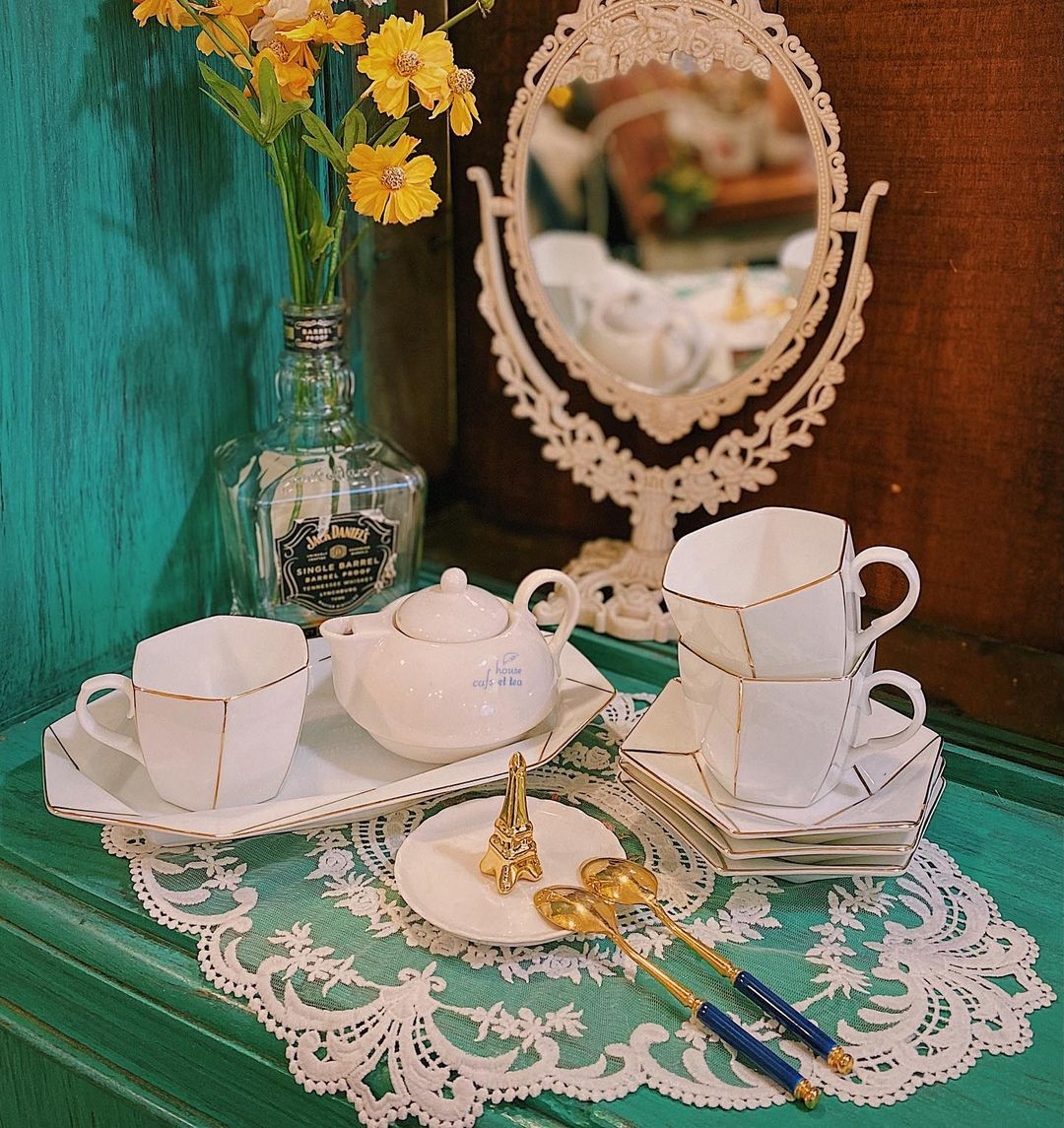Mở tiệc trà ngay tại nhà với những bộ ấm tách đẹp long lanh chanh sả giá chỉ từ 250k - Ảnh 3.