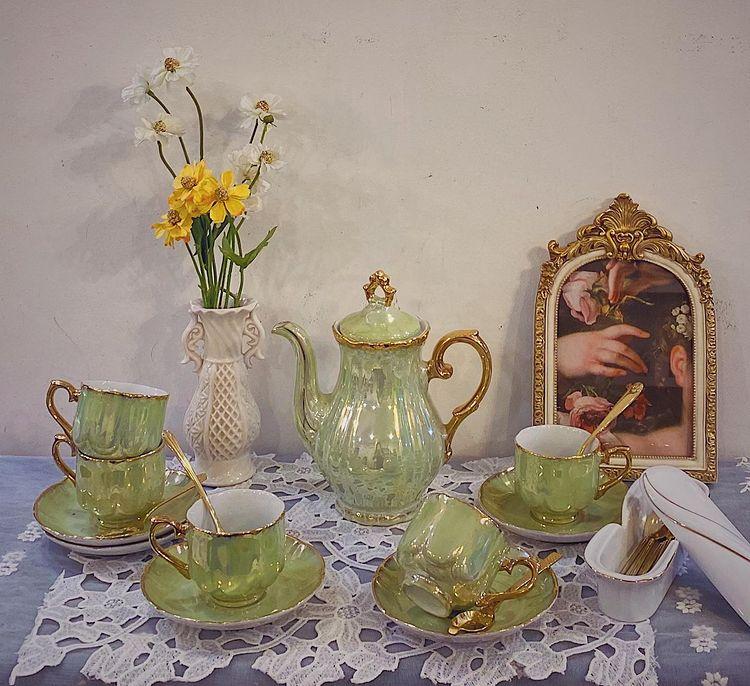 Mở tiệc trà ngay tại nhà với những bộ ấm tách đẹp long lanh chanh sả giá chỉ từ 250k - Ảnh 4.