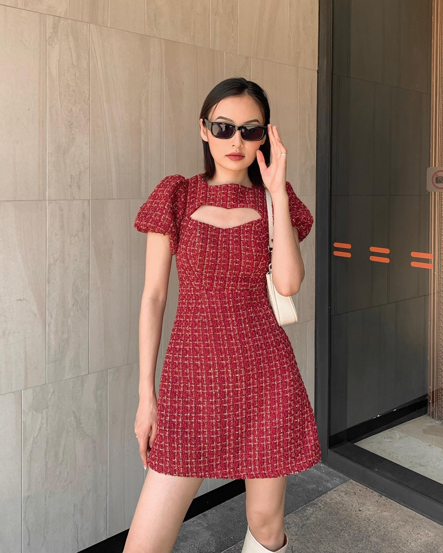 Hà Hồ - Lương Thùy Linh đụng váy Zara màu đỏ chứng minh hè này chị em nhất định nên sắm một chiếc - Ảnh 5.