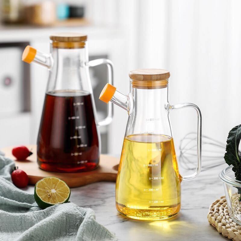 Chị em mau sắm bình đựng dầu ăn đi, chỉ hơn trăm nghìn mà làm căn bếp sang hơn mấy phần - Ảnh 7.