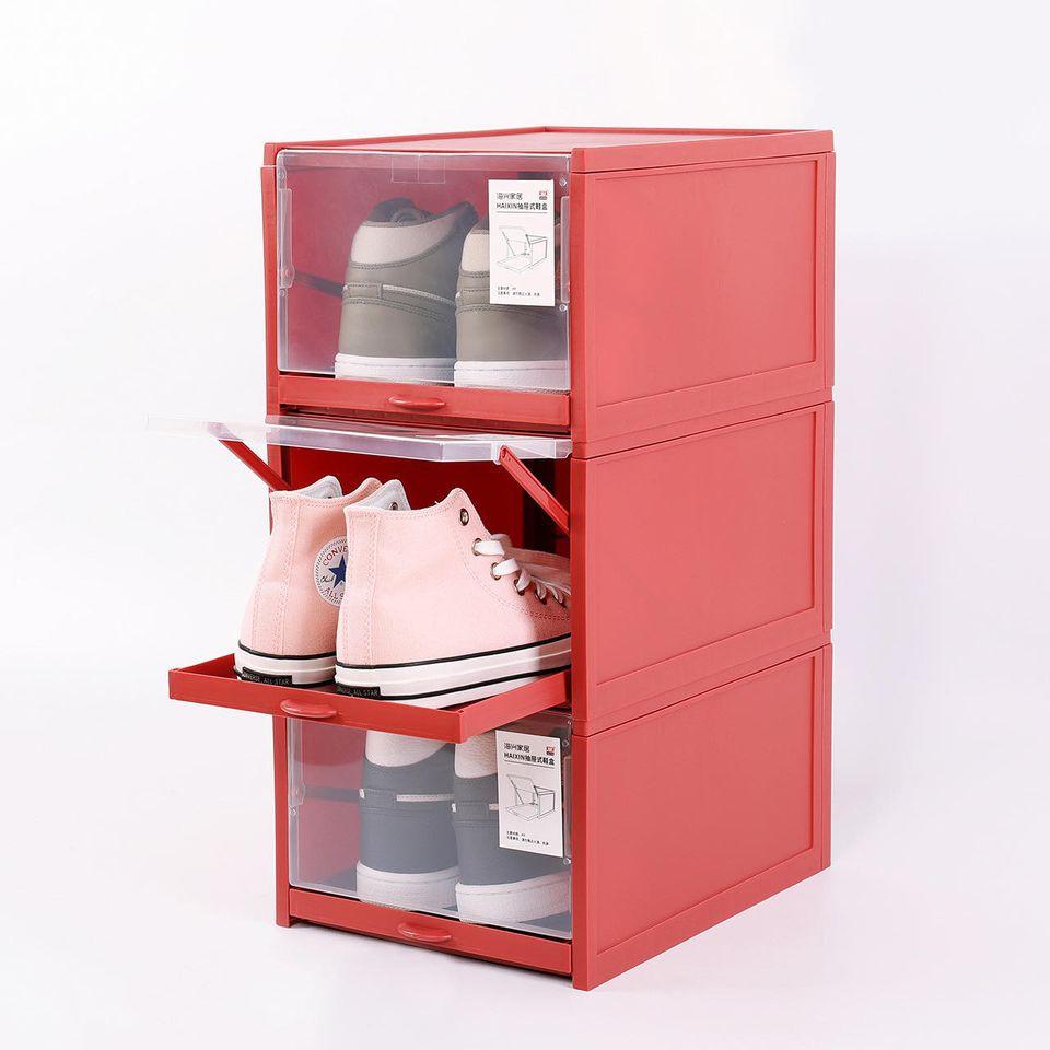Tiếc chi vài chục nghìn sắm hộp đựng giày: Nhà gọn hơn, giày cũng được bảo quản tốt - Ảnh 3.
