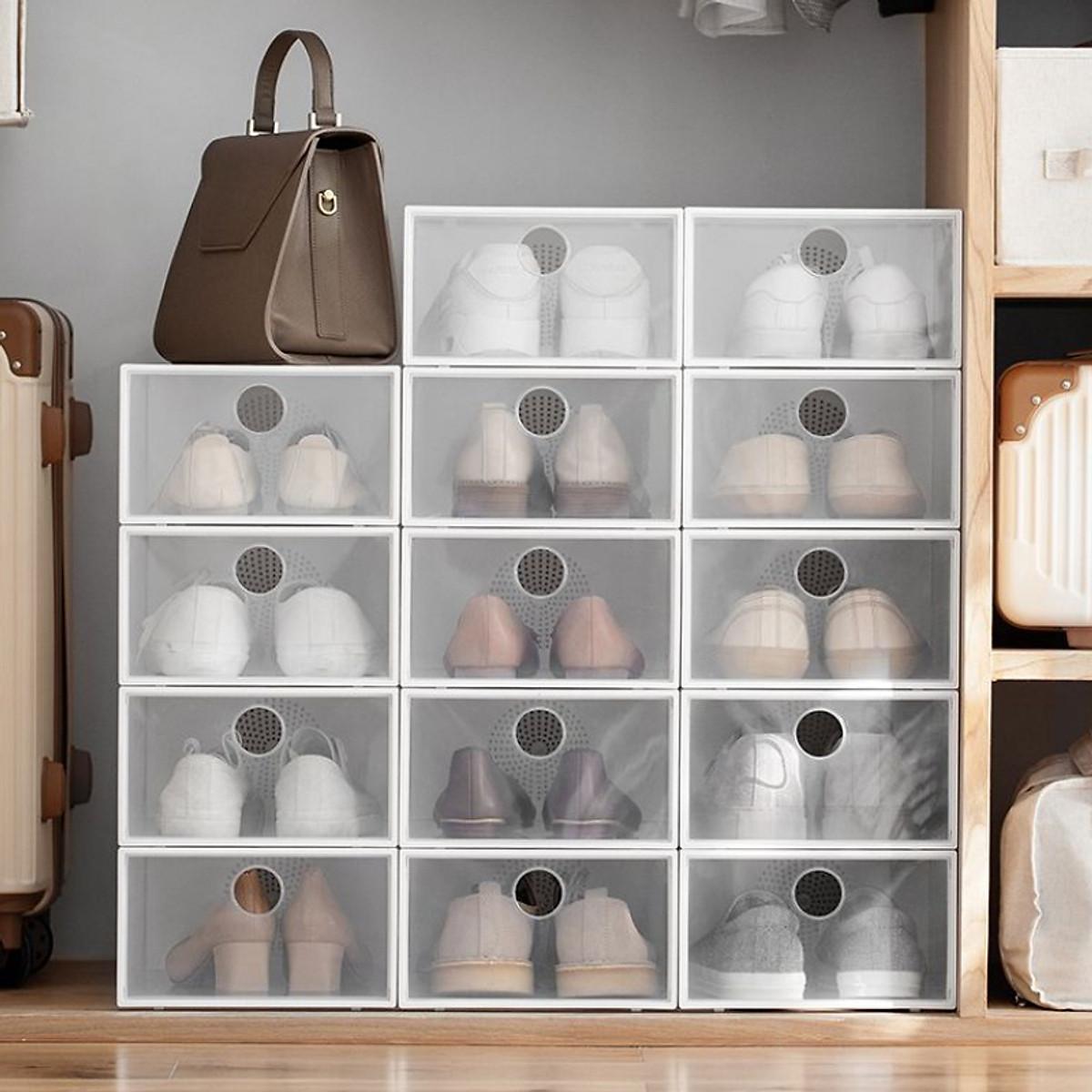Tiếc chi vài chục nghìn sắm hộp đựng giày: Nhà gọn hơn, giày cũng được bảo quản tốt - Ảnh 6.
