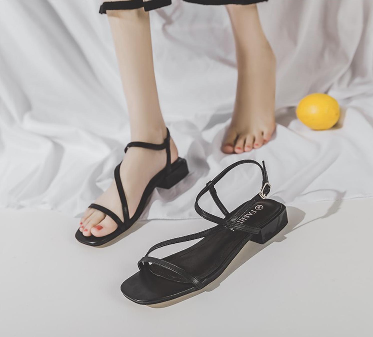Hà Trúc khoe đôi sandals bệt cực xinh và êm chân, nhiều chị em xem xong sẽ muốn mua theo ngay - Ảnh 4.