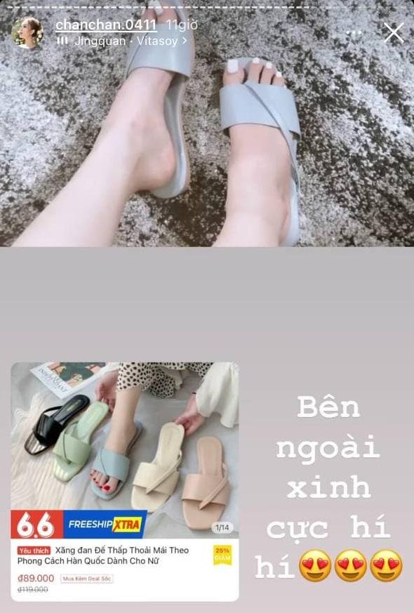 Xoài Non vừa sắm loạt giày dép, túi xách chỉ 100k - 200k mà xinh dễ sợ, chị em tội gì không mua theo - Ảnh 2.